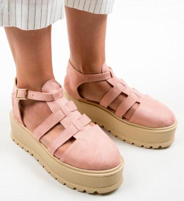 Pantofi Casual Daneza Roz