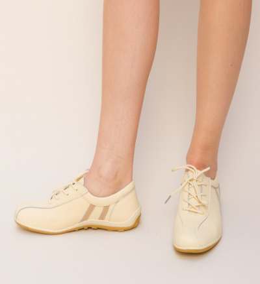 Pantofi Casual Destini Bej