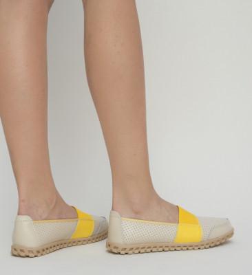 Pantofi Casual Digio Bej