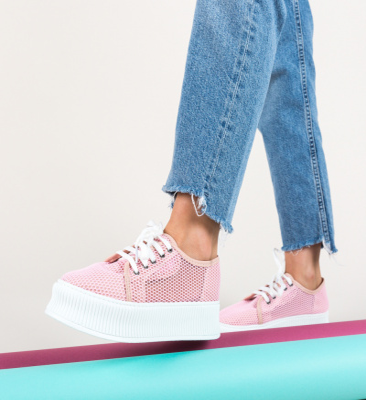 Pantofi Casual Doheris Roz