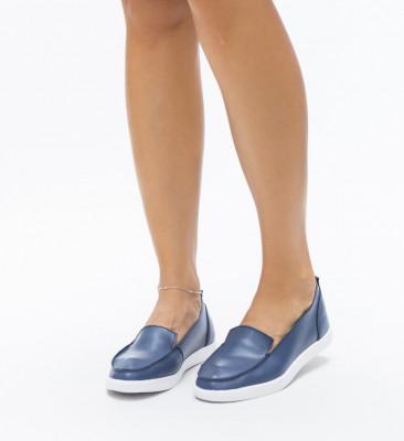 Pantofi Casual Fox Albastri