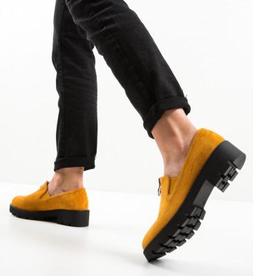 Pantofi Casual Guire Galbeni