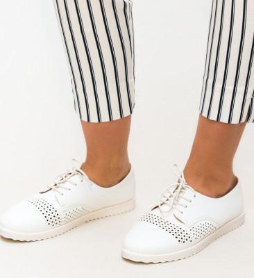 Pantofi Casual Indi Albi