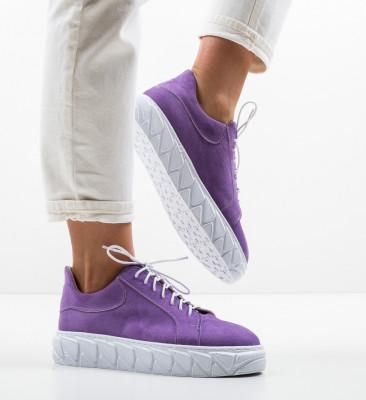 Pantofi Casual Jona Mov