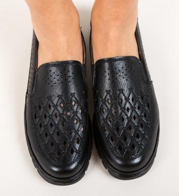 Pantofi Casual Lerini Negri