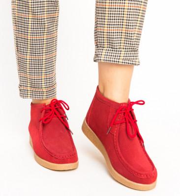 Pantofi Casual Melta Rosii