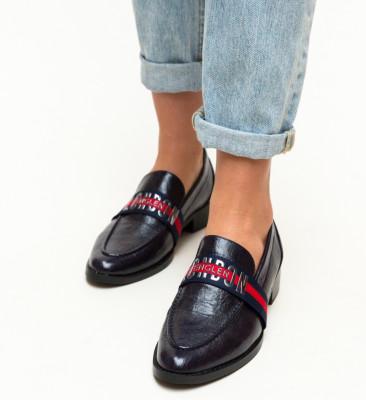 Pantofi Casual Menna Bleumarin