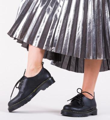 Pantofi Casual Night Negri