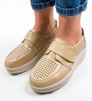 Pantofi Casual Rezolito Bej