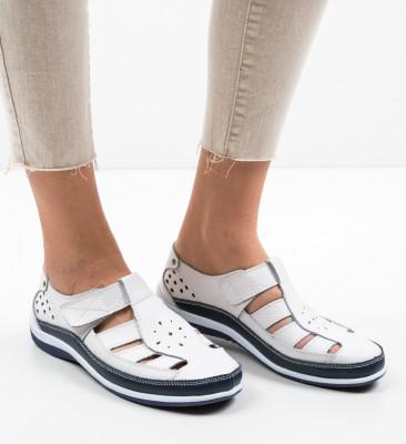 Pantofi Casual Saptes Albi