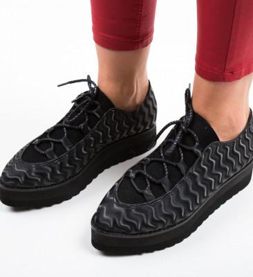 Pantofi Casual Selene Negri 3