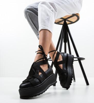 Pantofi Casual Sesane Negri 3