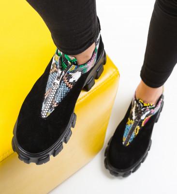 Pantofi Casual Skioha Negri 2