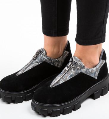 Pantofi Casual Skioha Negri 4
