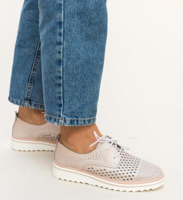 Pantofi Casual Tone Roz