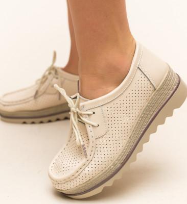 Pantofi Casual Torino Bej