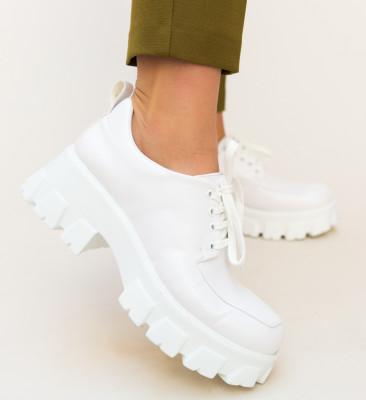 Pantofi Casual Trako Albi