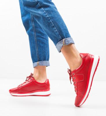 Pantofi Casual Trent Rosii