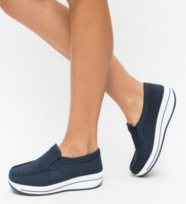 Pantofi Casual Verno Bleumarin