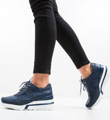 Pantofi Casual Viop Bleumarin