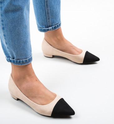 Pantofi Cohe Bej