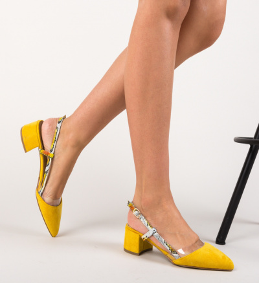 Pantofi Conall Galbeni
