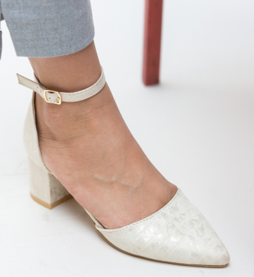Pantofi Devlin Bej