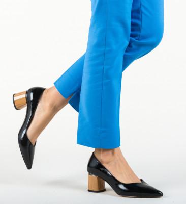Pantofi Devon Negri