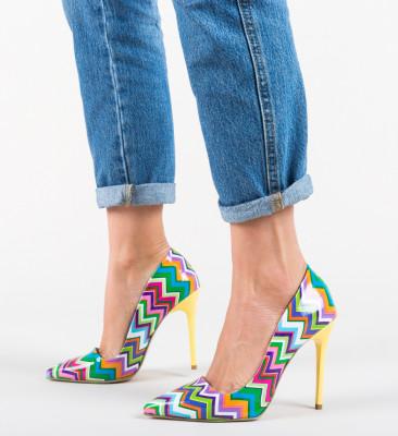 Pantofi Dobrara Galbeni