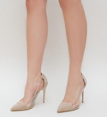 Pantofi Duck Bej