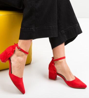 Pantofi Eboq Rosii
