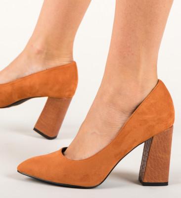 Pantofi Emiro Camel