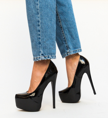 Pantofi Evie Negri