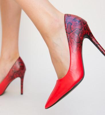 Pantofi Exca Rosii