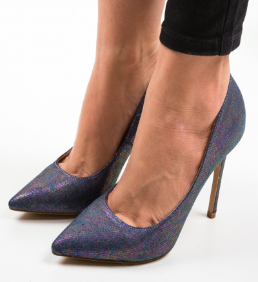 Pantofi Ferrei Albastri 2