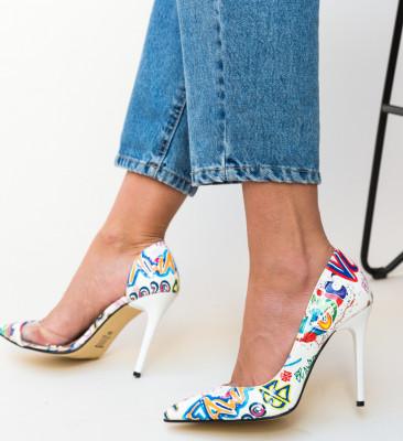 Pantofi Fifi Albi 2