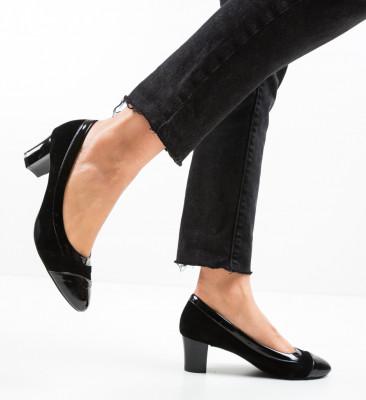 Pantofi Fujne Negri