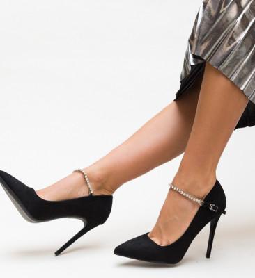 Pantofi Histy Negri