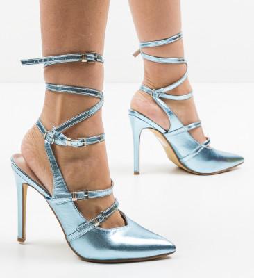 Pantofi Janem Albastri