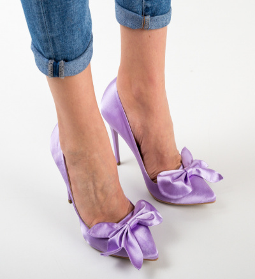 Pantofi Juanita Mov