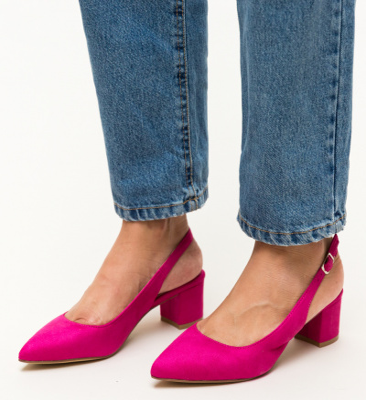 Pantofi Khalil Roz