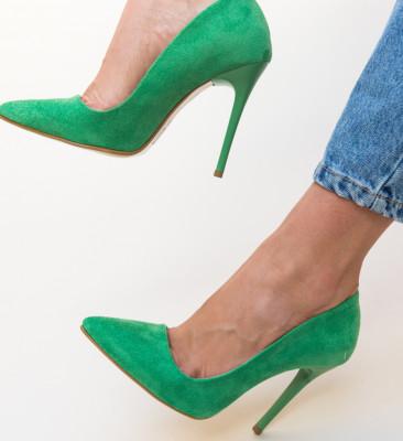 Pantofi Knorbert Verzi