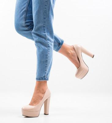 Pantofi Kobi Nude