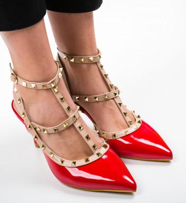 Pantofi Kris Rosii
