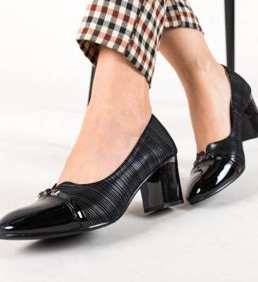Pantofi Levi Negri
