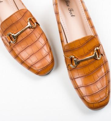 Pantofi Lonao Camel