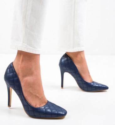 Pantofi Moba Bleumarin
