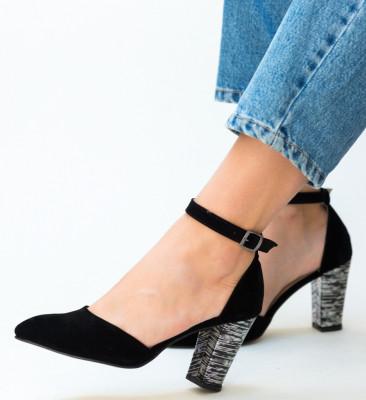 Pantofi Muzli Negri