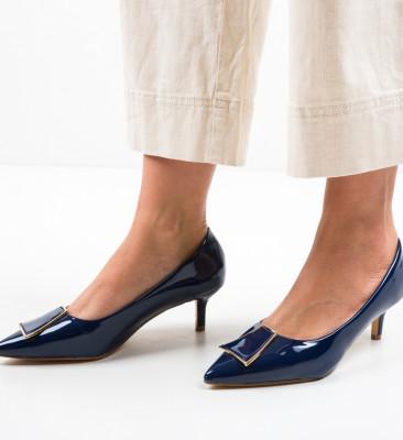 Pantofi Oko Bleumarin