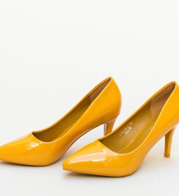 Pantofi Pena Galbeni